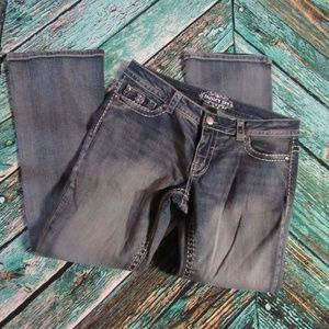 Paisley sky boot-cut Jeans 12